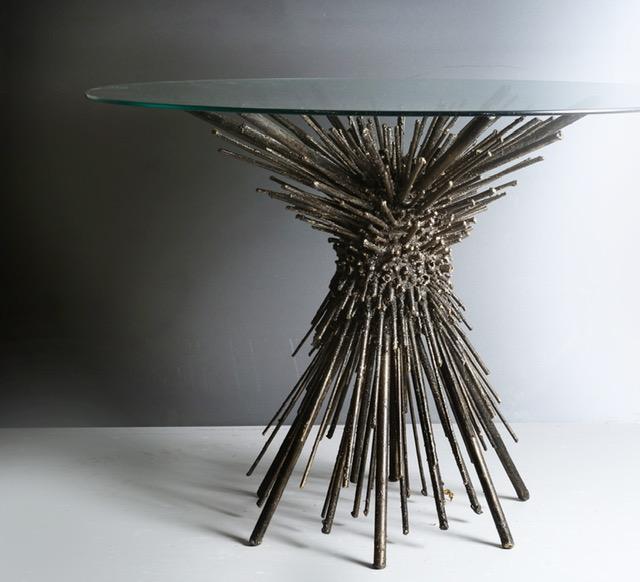 The Urchin Dining or Center Table by James Bearden for Studio Van den Akker