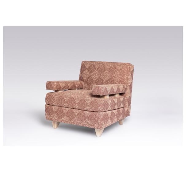 The Maximillion Club Chair by Studio Van den Akker
