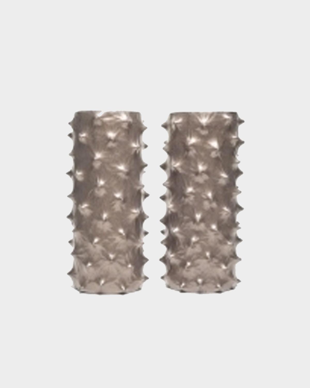 Pair of Ceramic Vases, Titled Spina, by Pamela Sunday