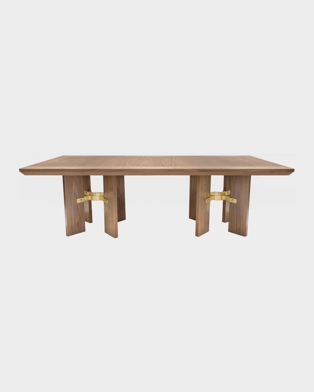 The Francois Dining Table by Studio Van den Akker