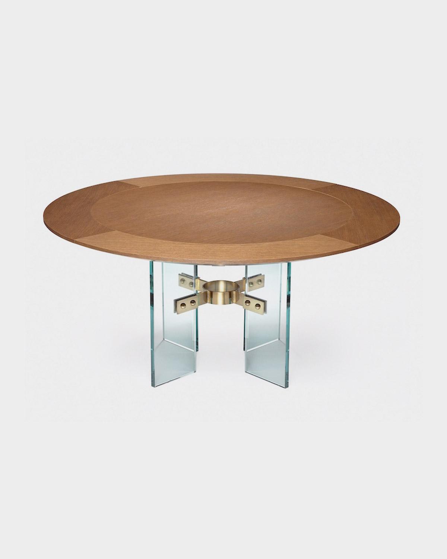 The Jules Center / Dining Table by Studio Van den Akker