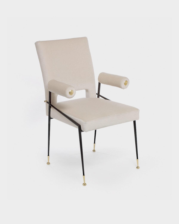 The Lewis Arm Dining Chair by Studio Van den Akker