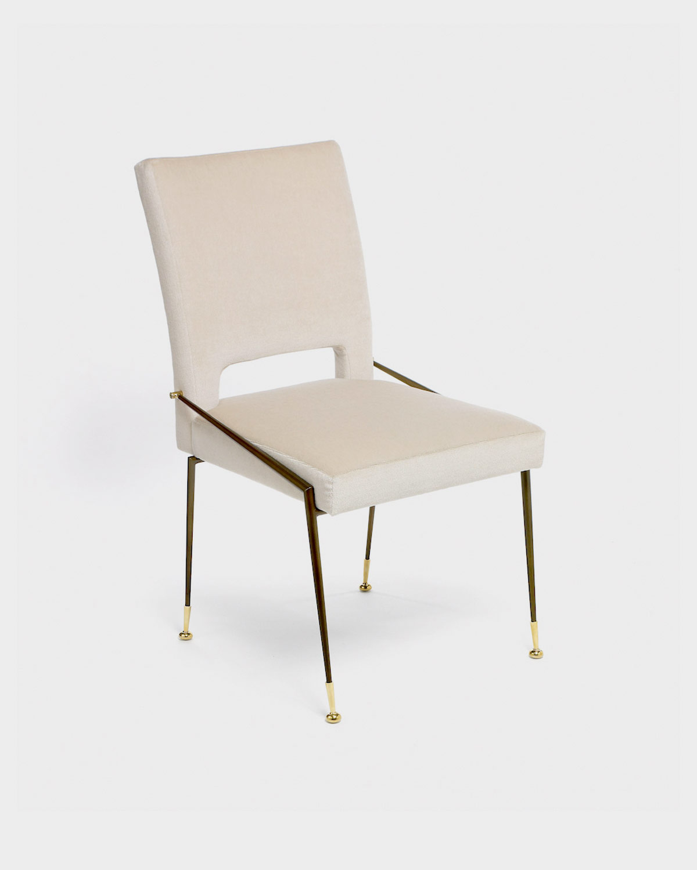 The Lewis Side Dining Chair by Studio Van den Akker