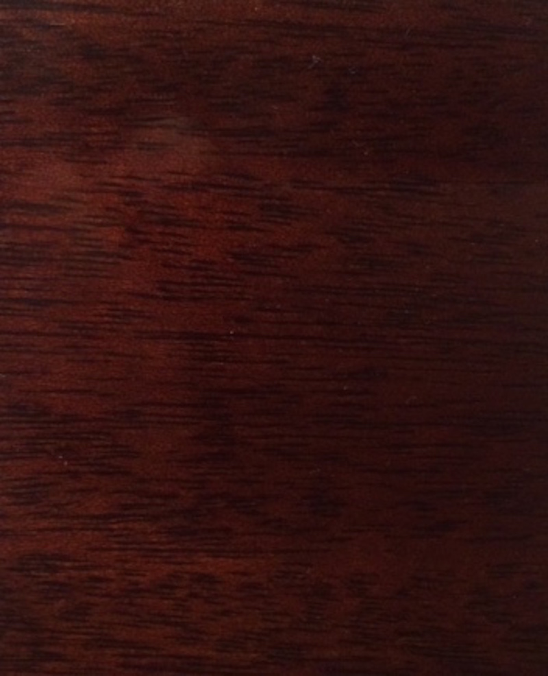 Clear Dark Mahogany