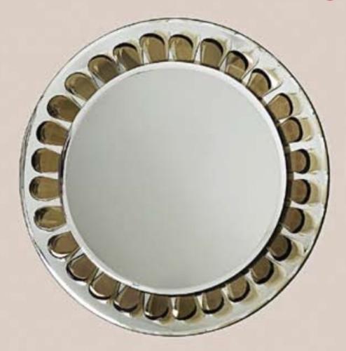 Max Ingrand for Fontana Arte Very Rare Round Wall Mirror