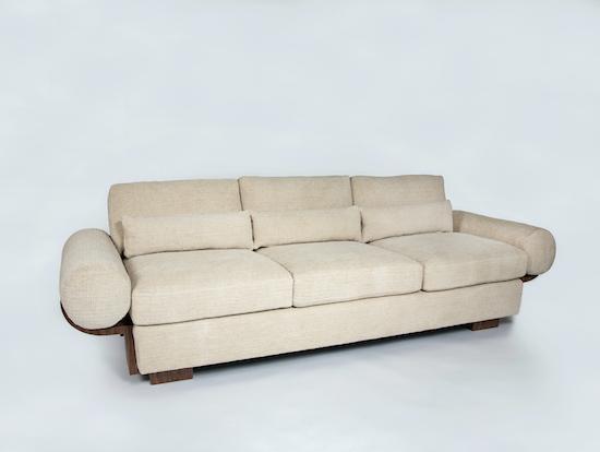 The Edward Sofa by Studio Van den Akker