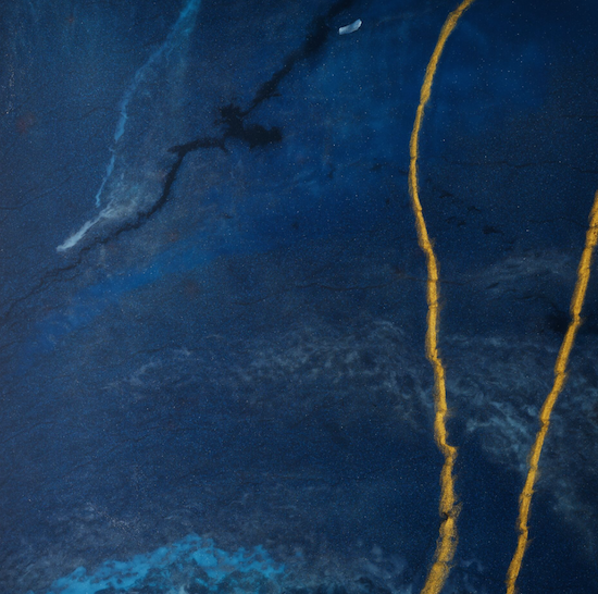 Midnight Blue & Tangerine
