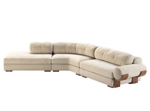 Edward Sectional Sofa by Studio Van den Akker