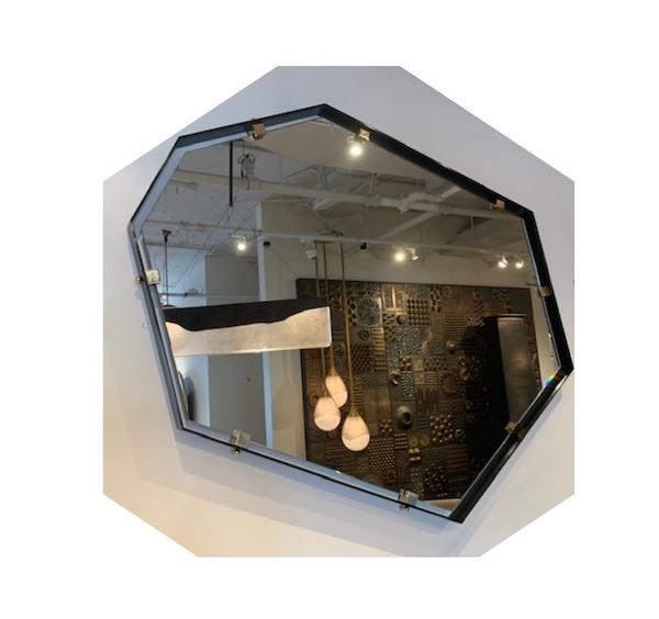 Polygon D Dylan Wall Mirror by Studio Van den Akker
